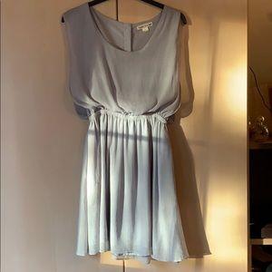Double Zero silver swing dress size S